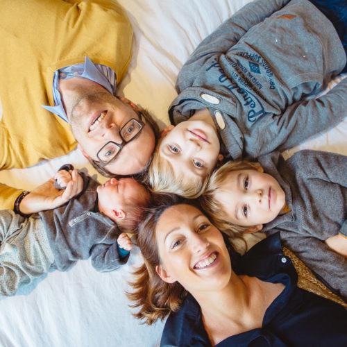 séance photo famille dans la pévèle