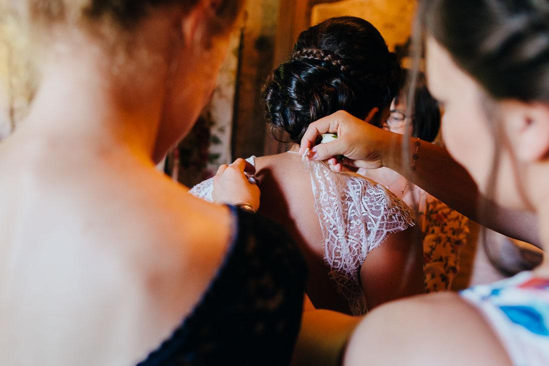 Mariage dans le Beaujolais